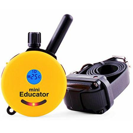 Educator ET-300 Mini 1/2 Mile E-Collar Remote Dog Training Collar With Vibration, Tapping Sensation and Pavlovian Stimulation - Educator Store