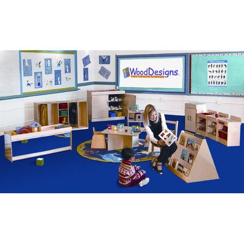 Wood Designs 13 Piece Infant/Toddler Classroom Storage Set