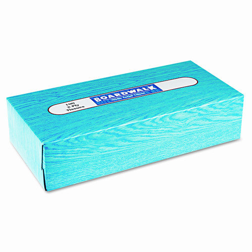 Boardwalk Facial 2-Ply Tissues - 100 Tissues per Box / 30 Boxes