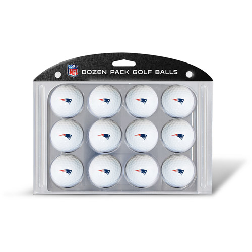 Team Golf NFL New England Patriots Golf Balls, 12 Pack