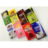 PowerMedley Glico Pocky & Pejoy 8 flavors variety (pack of 8)