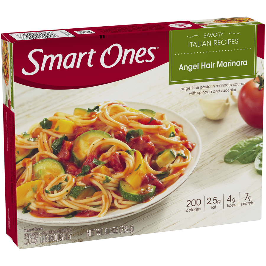 Smart Ones® Savory Italian Recipes Angel Hair Marinara 9 oz. Box