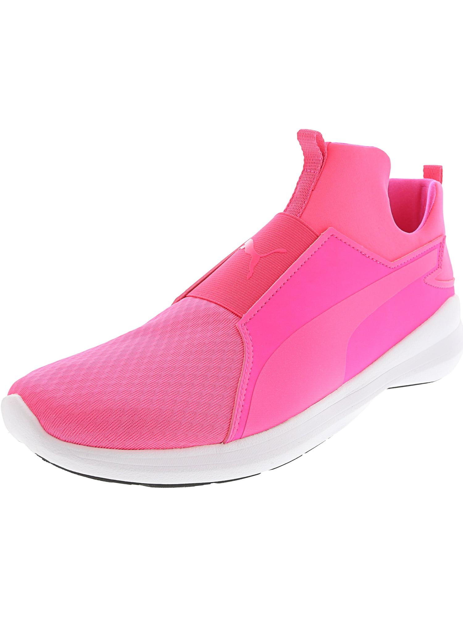 Puma Women's Rebel Mid Baja Blue / Smoky Grape Ankle-High Fabric Fashion Sneaker - 6.5M