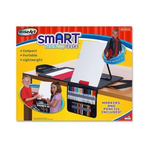 RoseArt Tabletop Smart Art Dry-Erase Easel BDU48504