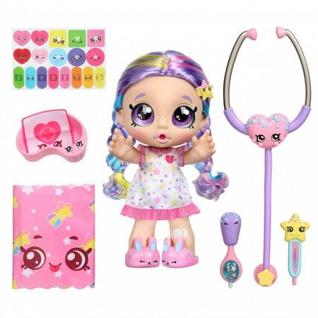 "Kindi Kids Shiver Shake Rainbow Kate 10"" Girl Pre-School Doll, 40+ Phrases & Sounds"