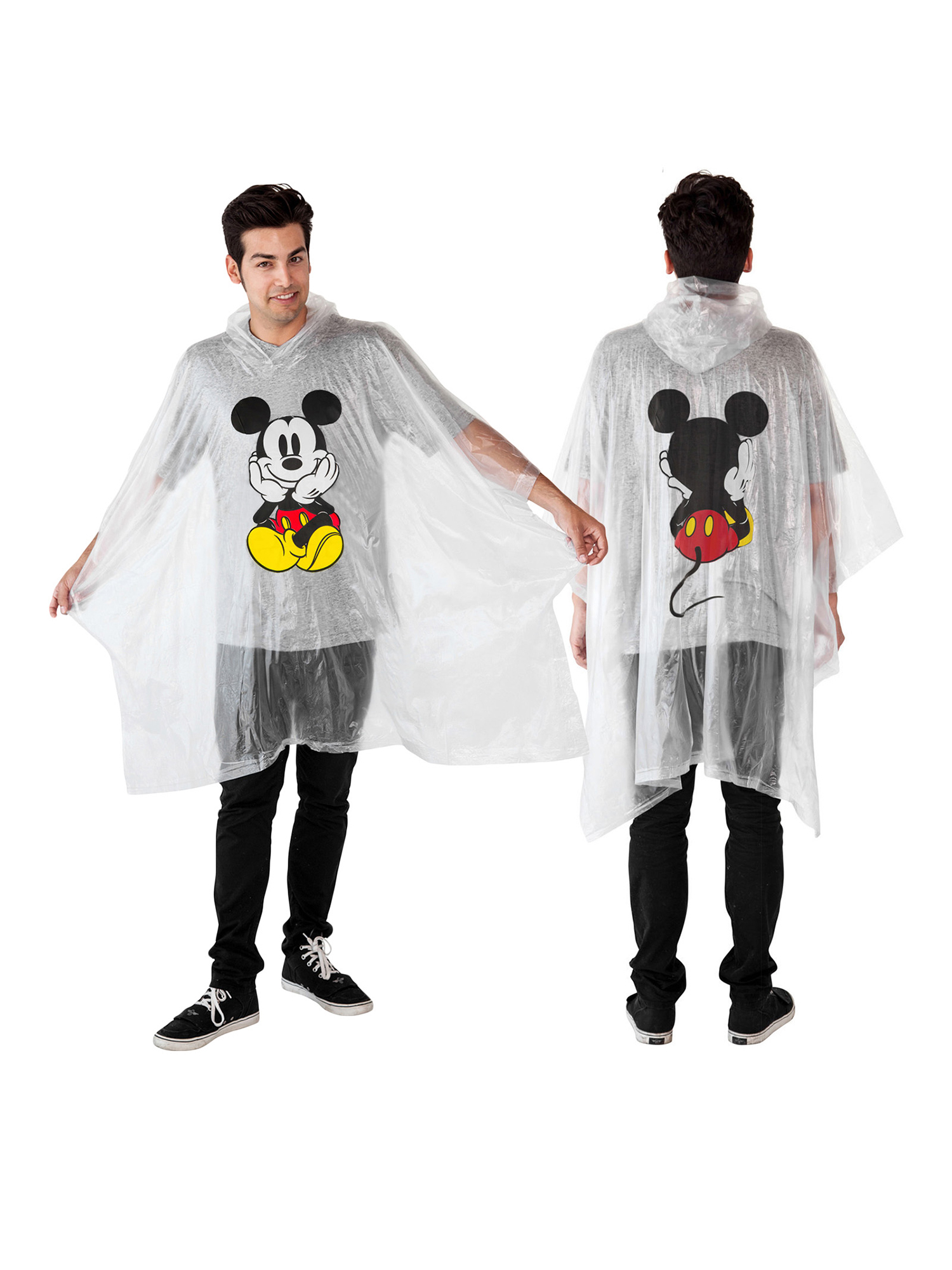 Disney Adult Mickey Mouse Rain Poncho