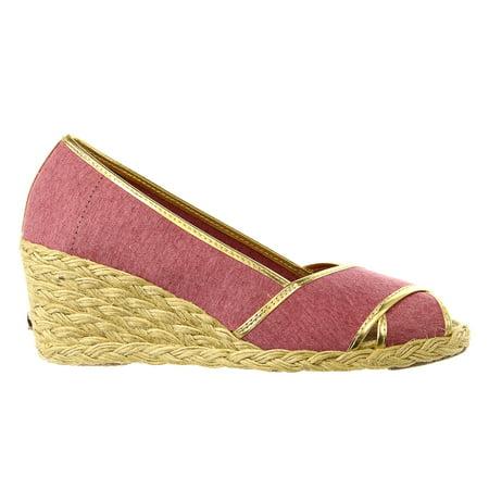 d0b7f40f9ede Lauren Ralph Lauren - LAUREN Ralph Lauren Cecilia II Espadrille Wedge  Sandal Shoe - Womens - Walmart.com