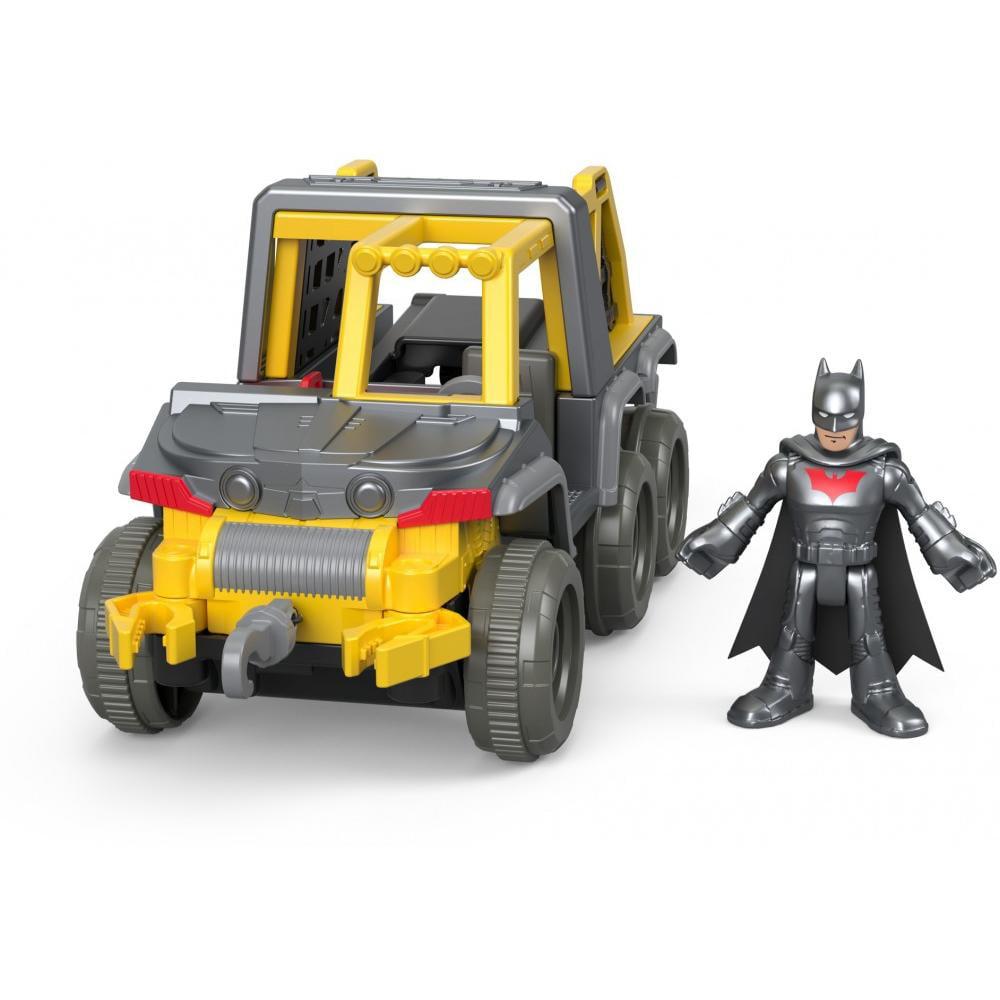 Imaginext DC Super Friends Streets of Gotham City Batman & 6x6 Vehicle