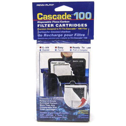 Cascade 100 Power Filter Disposable Floss/Carbon Filter Cartridge