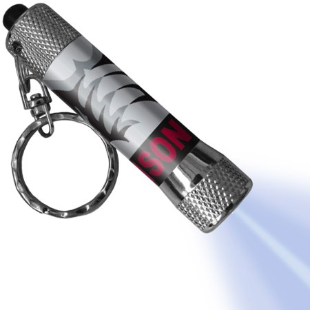 Alabama Crimson Tide LED Flashlight Logo Keychain Led Lighted Logo Keychain
