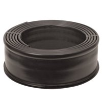 Suncast 20' Professional Coiled Resin Lawn Edging, Black, PCE2040