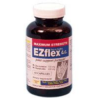Ez Flex Force maximale glucosamine et de chondroïtine Joint Support Formula Capsules - 60 Ea