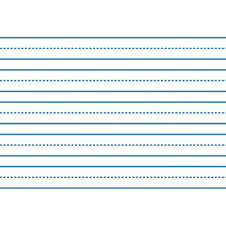 School Smart Sulphite Long Way Skip-A-Line Writing Paper, 10.5