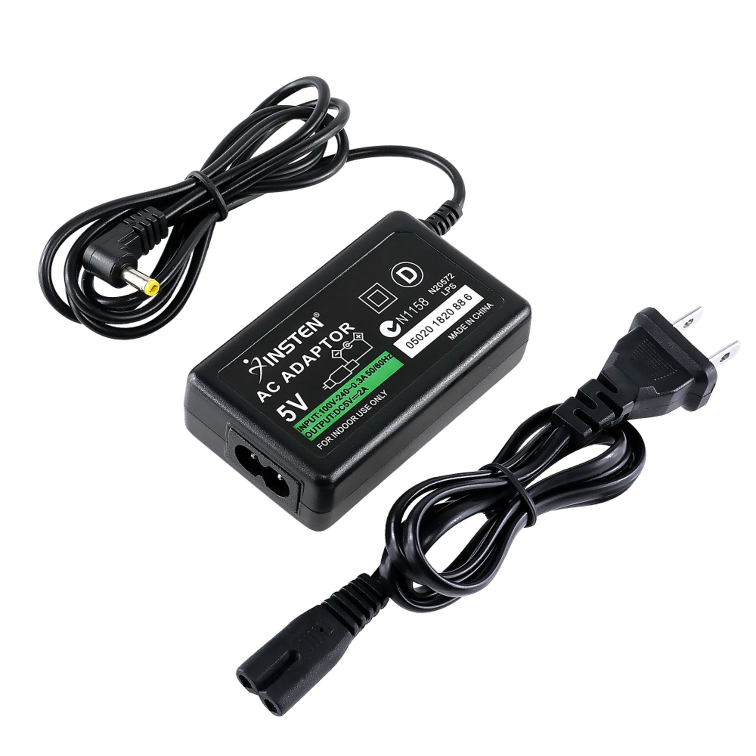 Insten Travel Charger AC Power Supply Outlet Adapter For Sony PSP (Fit 3000 2000 1000) PlayStation Portable