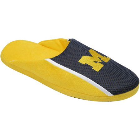 University Of Michigan Wolverines Slippers Jersey Slide House Shoes