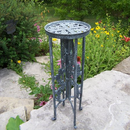 Oakland Living Interlock Plant Stand Grape -Verdigris