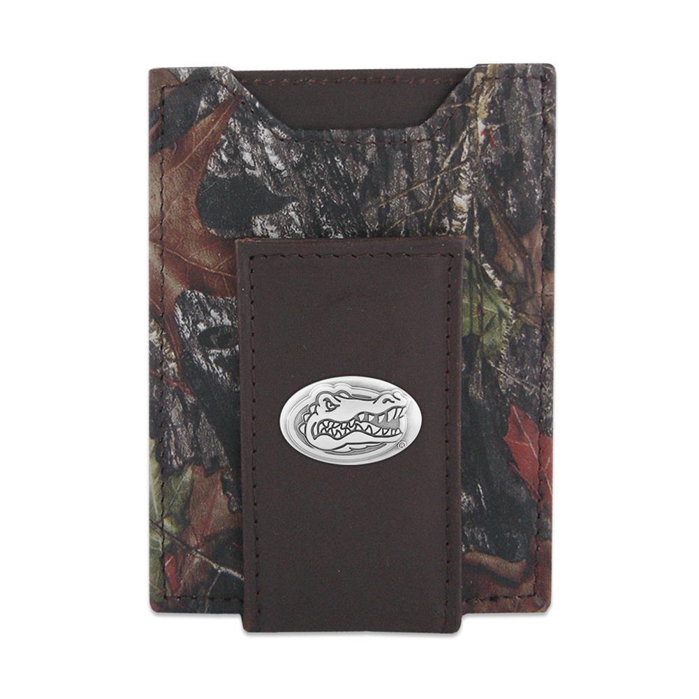 Turkey ZEP-PRO Mens Mossy Oak Nylon//Leather Concho Wallet