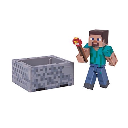 Minecraft Series 3 Wave 1 Steve With Minecraft Pack