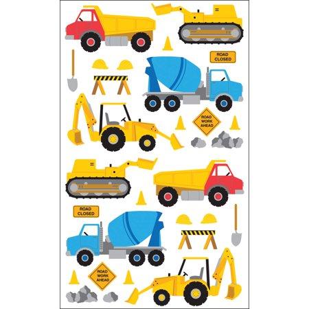 Mrs. Grossman's Stickers-Construction Equipment