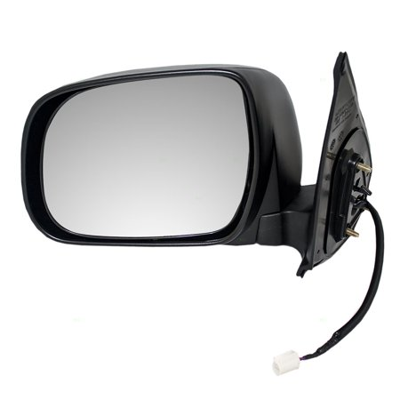 1990 Toyota Pickup Mirror (Drivers Power Side View Mirror Textured Replacement for Toyota Pickup Truck 87940-04180 )