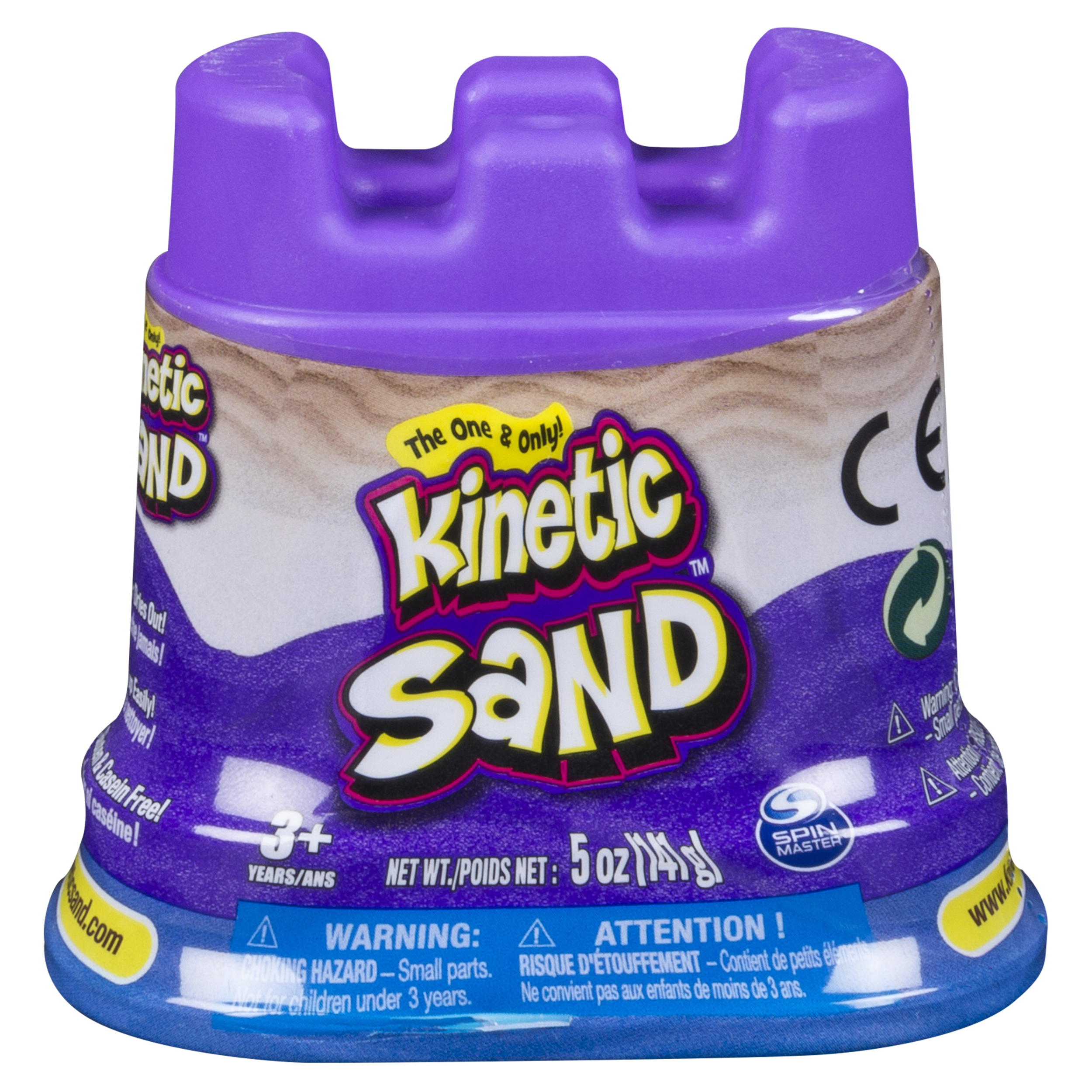 The One & Only Kinetic Sand 5 oz Single Container, Blue