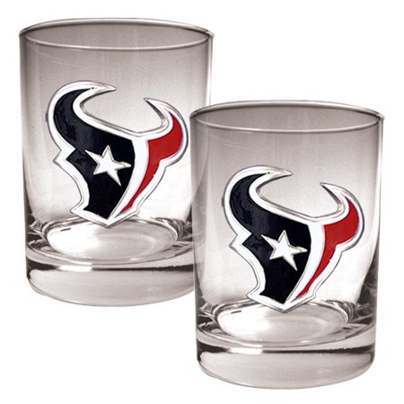 Texans Rock (Houston Texans 14oz. Rocks Glass Set - No Size )