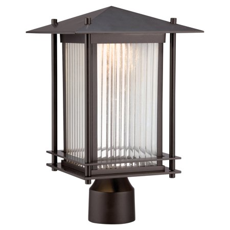 Designers Fountain LED32536-BNB Hadley LED Post Lantern - 9W in. - Burnished Bronze