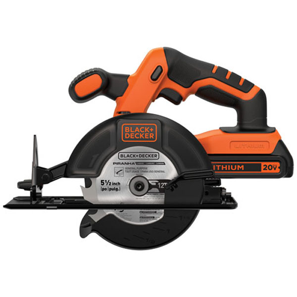 Blackdecker bdccs20c 20 volt max lithium ion cordless 5 12 in blackdecker bdccs20c 20 volt max lithium ion cordless 5 12 in circular saw battery included walmart greentooth Gallery