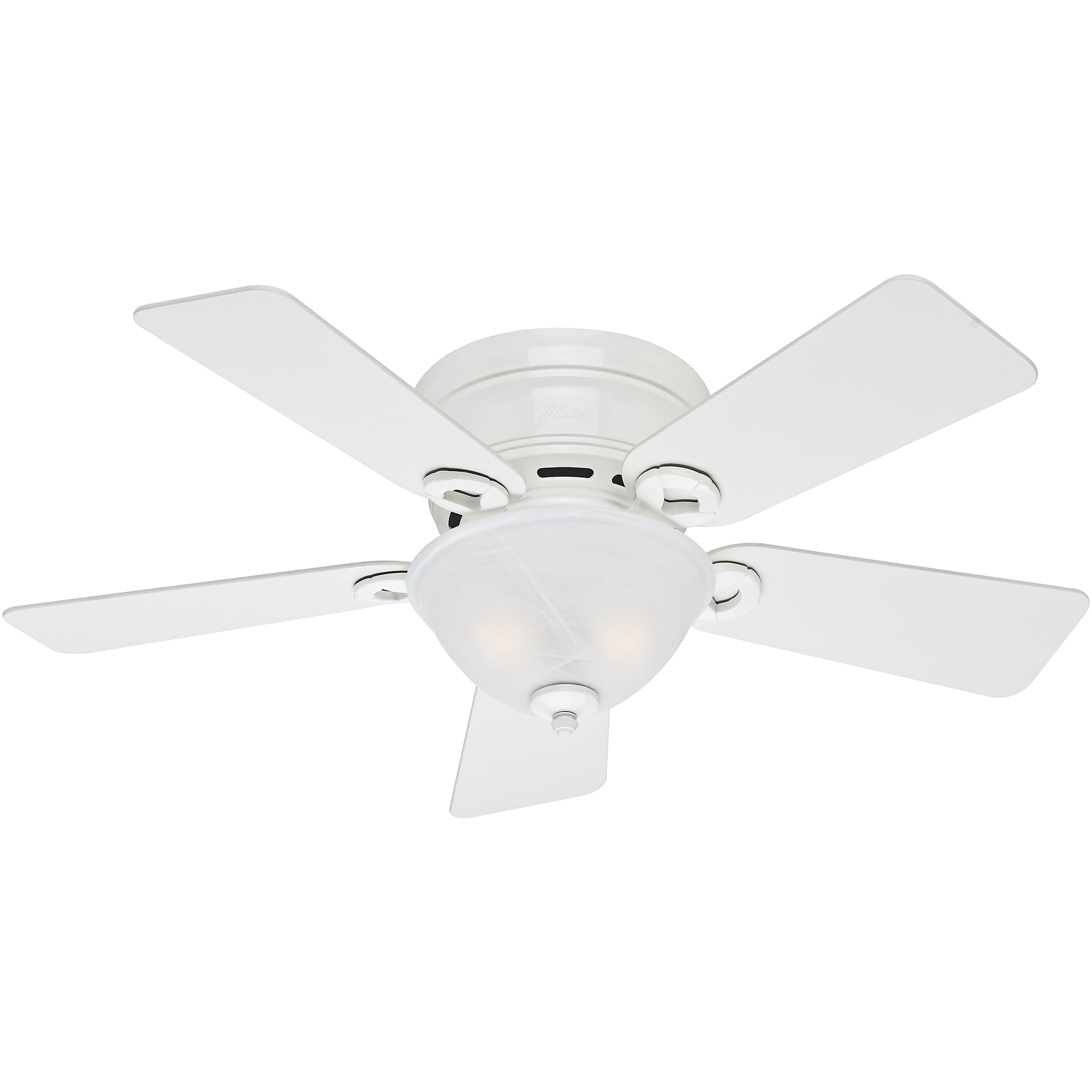 "Hunter 42"" Conroy Ceiling Fan White Walmart"