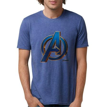 CafePress - Avengers Endgame Logo Mens Tri Blend T Shirt - Mens Tri-blend T-Shirt Blend Mens T-shirt