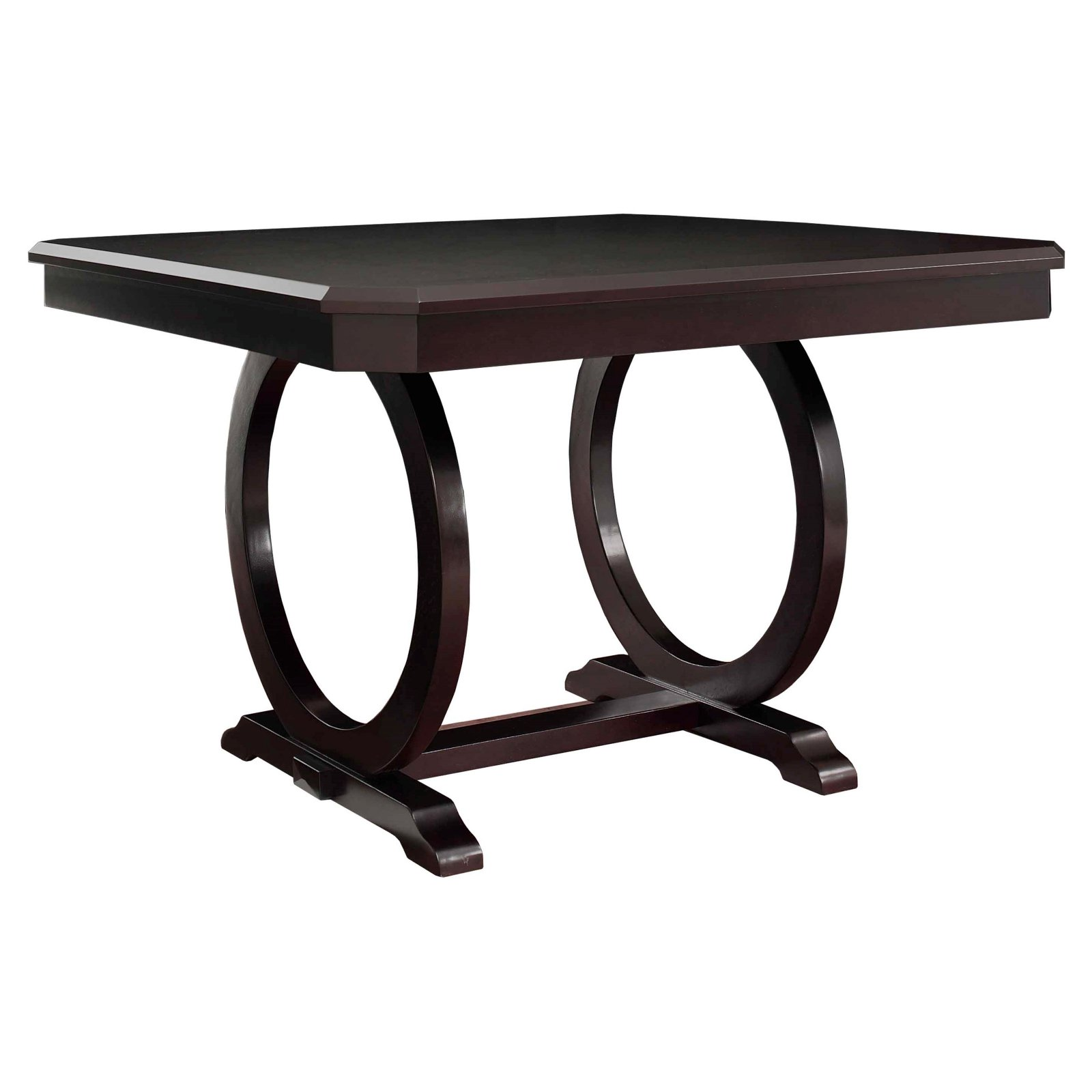 Powell Brigham Counter Height Square Dining Table - Cherry
