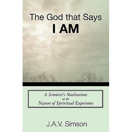 The God That Says I Am