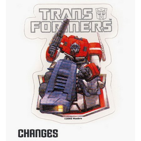 Transformers G1 Optimus Prime Autobot Dreamwave Sticker