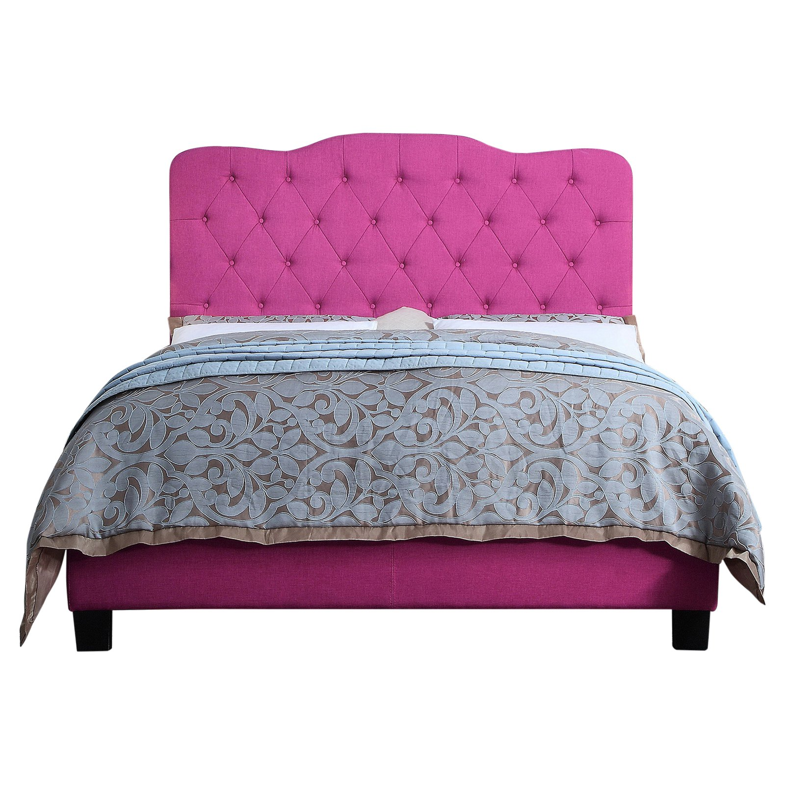 Rosevera Andra Upholstered Panel Bed