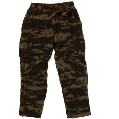 Pursuit Gear Men's Berber Wool Pants Vintage Brown Camo Pattern  X-Large