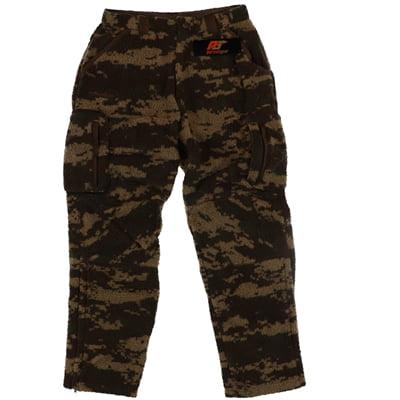 Pursuit Gear Men's Berber Wool Pants Vintage Brown Camo Pattern  X-Large (Wool Pants)