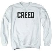 Creed Cracked Logo Mens Crewneck Sweatshirt