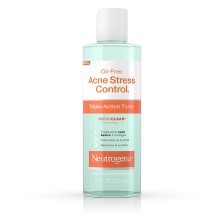 Neutrogena Acne-Fighting Salicylic Acid Facial Toner, 8 fl. (Best Drugstore Toner For Acne Prone Skin)