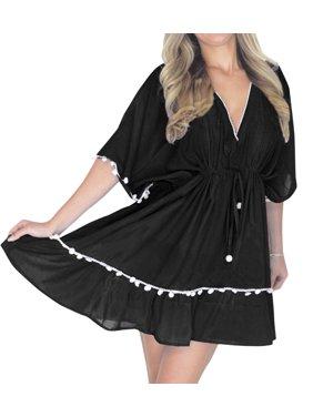 ce9508043a Product Image Beach Bath Wear Summer Solid Short Mini Rayon Dress Bikini  Pareo Cover Up 1195