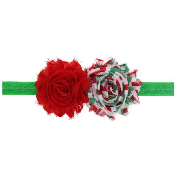 Mosunx Baby Girl Christmas Ornaments Headdress Elastic Hair Band