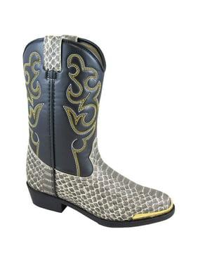 Smoky Mountain Kid's Laramie Python/Black Western Boots 1042