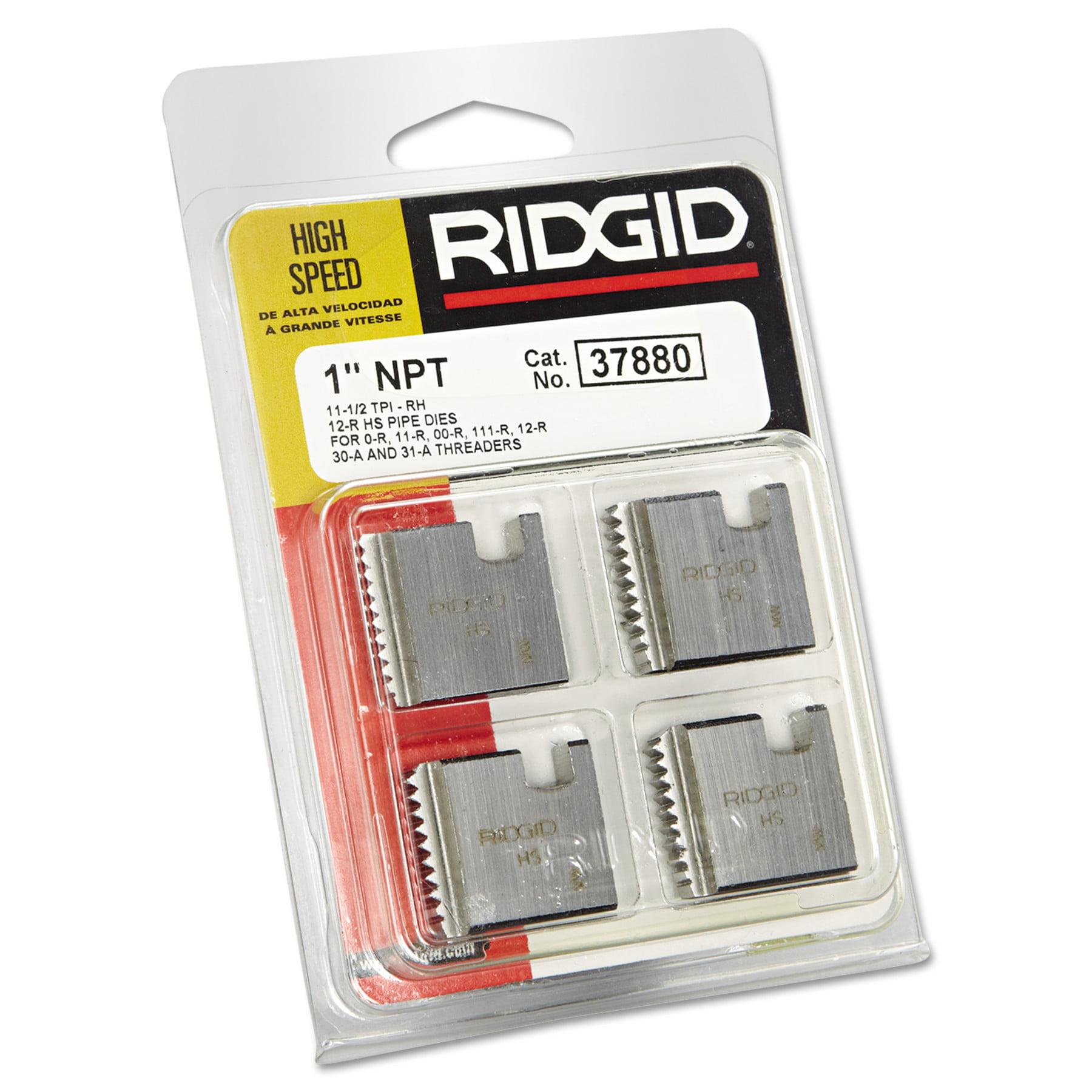 RIDGID High-Speed RH Manual Threader Pipe u0026 Bolt Die NPT 1  - 11 1/2 TPI - Walmart.com  sc 1 st  Walmart & RIDGID High-Speed RH Manual Threader Pipe u0026 Bolt Die NPT 1