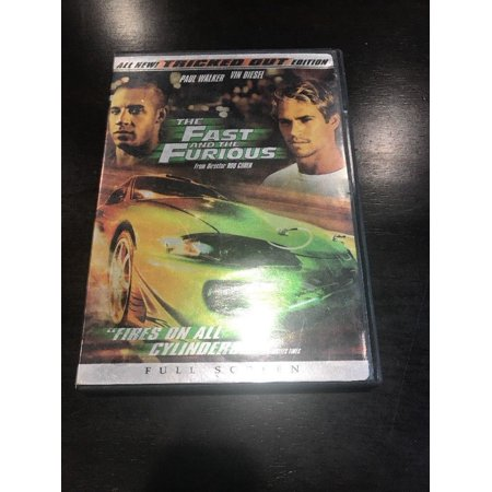 The Fast and the Furious (DVD, 2003, Tricked Out Edition Full Frame) (Fast And Furious 7 Full Movie)