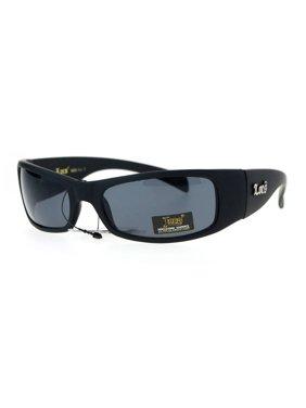 72d7bbb327 Product Image Locs Cholo Biker Extra Narrow Lens Rectangular Sunglasses  Matte Black