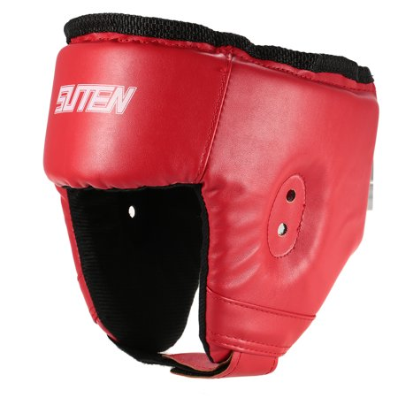 Head Guard - Boxing Training Headgear Head Guard Martial Arts Kick Sparring Helmet Gear Face Head Protector