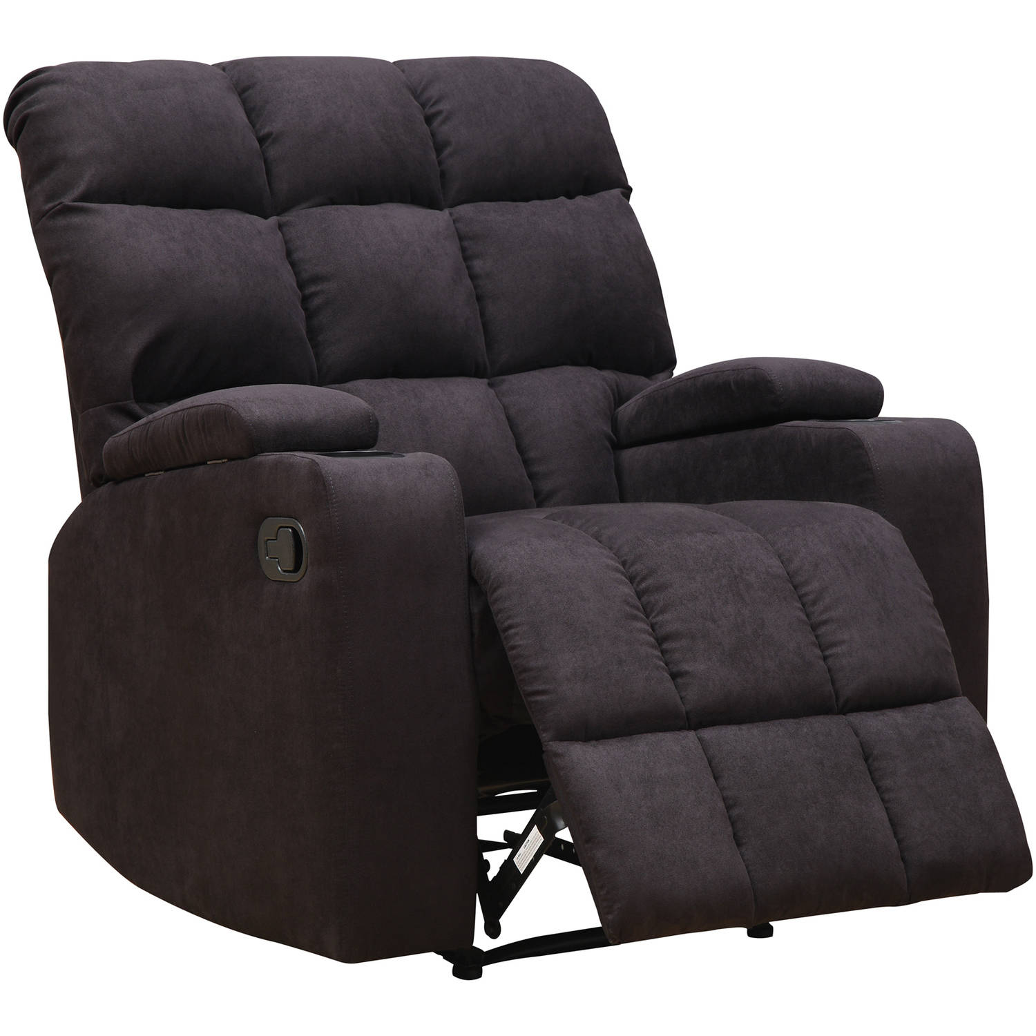 Mainstays Tyler Wall Hugger Storage Arm Recliner Chair Multiple