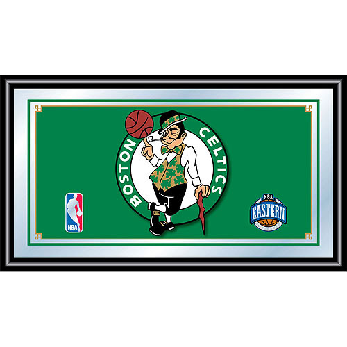 Boston Celtics NBA Framed Logo Mirror
