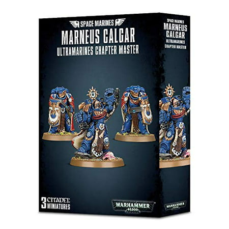 Warhammer 40K: Space Marines - Ultramarines Chapter Master, Marneus