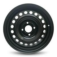 "Road Ready Replacement Black Steel Wheel Rim 16"" For 2007-2012 Nissan Sentra 4 Lug"