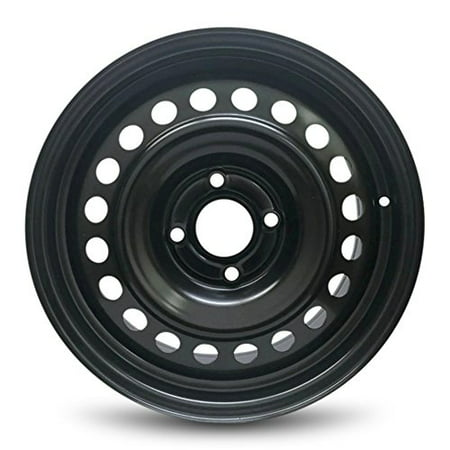 Classic Wheels Rims - Road Ready Replacement Black Steel Wheel Rim 16